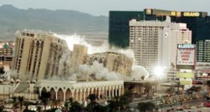 Implosion of Alladin Hotel